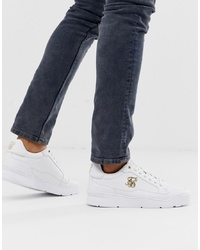 Sneakers basse bianche di Siksilk