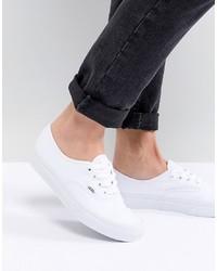 Sneakers basse bianche di Vans