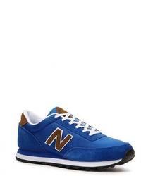 Sneakers basse blu
