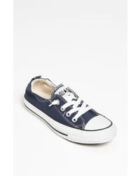 Sneakers basse blu scuro
