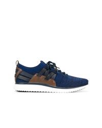 Sneakers basse blu scuro di Cole Haan