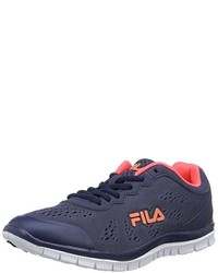 Sneakers basse blu scuro di Fila