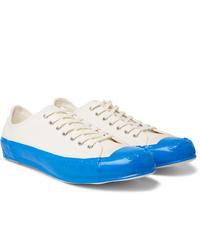Sneakers basse di tela bianche di Comme Des Garcons SHIRT