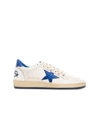 Sneakers basse di tela bianche di Golden Goose Deluxe Brand