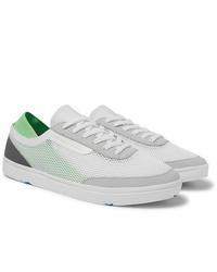 Sneakers basse di tela bianche di Orlebar Brown