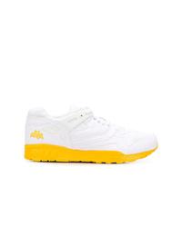 Sneakers basse di tela bianche di Reebok