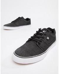 Sneakers basse di tela grigio scuro di DC Shoes