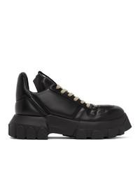 Sneakers basse di tela nere di Rick Owens