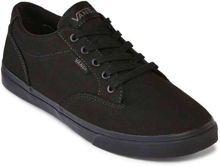scarpe vans basse nere