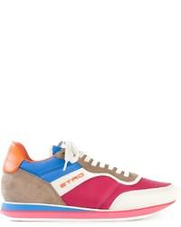 Sneakers basse fucsia di Etro