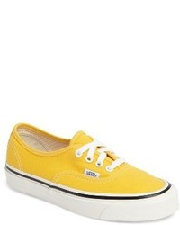 Sneakers basse gialle