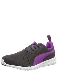 Sneakers basse grigio scuro di Puma