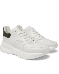 Sneakers basse in pelle bianche di Alexander McQueen