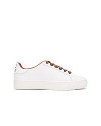 Sneakers basse in pelle bianche di Etro