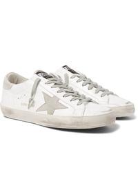 Sneakers basse in pelle bianche di Golden Goose