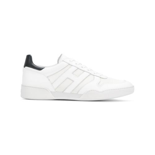 ... Sneakers basse in pelle bianche di Hogan ... 505774c0c46