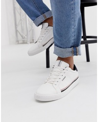 Sneakers basse in pelle bianche di Jack & Jones