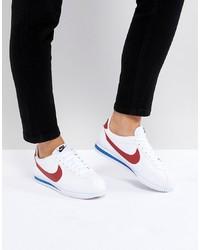 Sneakers basse in pelle bianche di Nike