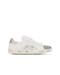 Sneakers basse in pelle bianche di Premiata