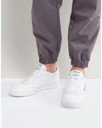 Sneakers basse in pelle bianche di Reebok