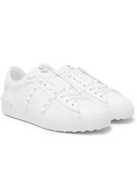 Sneakers basse in pelle bianche di Valentino