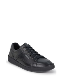 Sneakers basse in pelle nere