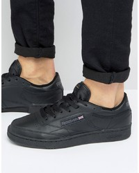 Sneakers basse in pelle nere di Reebok
