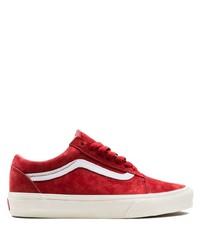 scarpe vans rosse