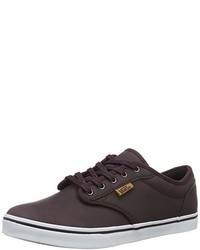 Sneakers basse marrone scuro di Vans
