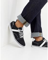 Sneakers basse nere e bianche di Jack & Jones