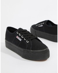Sneakers basse nere di Superga