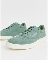 Sneakers basse verde menta di Reebok