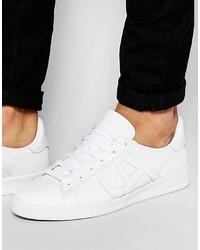 ... Sneakers in pelle bianche di Armani Jeans a8469ac8031