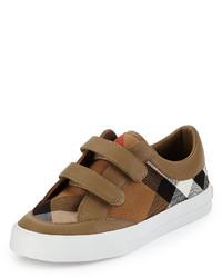 Sneakers marrone chiaro