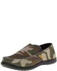 Sneakers senza lacci di tela