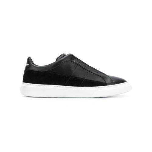 ... Sneakers senza lacci in pelle nere di Hogan ... 5f2bbeaea0e