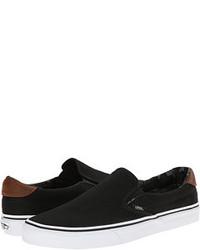 Sneakers senza lacci nere original 9744681