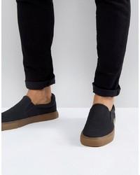 Sneakers senza lacci nere di ASOS DESIGN