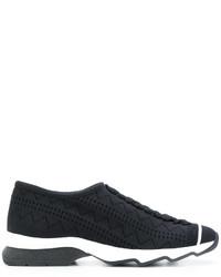 Sneakers senza lacci nere di Fendi