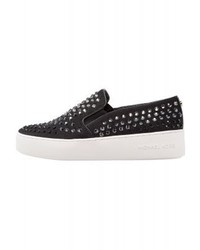 Sneakers senza lacci nere di Michael Kors