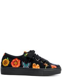 Sneakers stampate nere di Etro