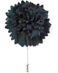 Spilla a fiori nera di Lanvin
