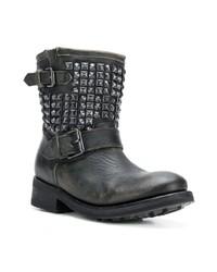 100% di soddisfazione abbigliamento sportivo ad alte prestazioni stili freschi Stivaletti in pelle con borchie neri di Ash, €262   farfetch ...