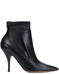 Stivaletti in pelle neri di Givenchy