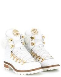 Stivali bianchi di Roberto Cavalli