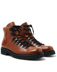 Stivali casual in pelle marroni di Common Projects