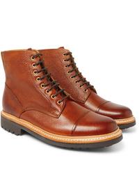 Stivali casual in pelle marroni di Grenson