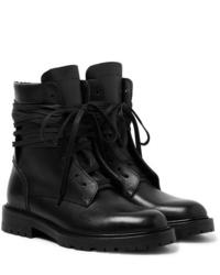 Stivali casual in pelle neri di Amiri