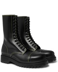 Stivali casual in pelle neri di Balenciaga