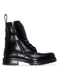 Stivali casual in pelle neri di Balmain